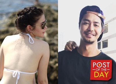 LOOK: Bela Padilla and Zanjoe Marudo go on a hike