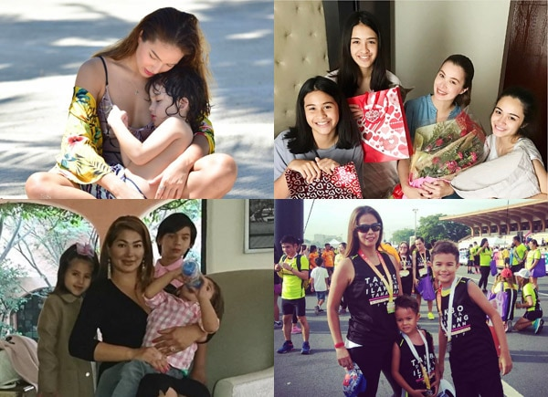 How celebrity moms celebrated Mother's Day