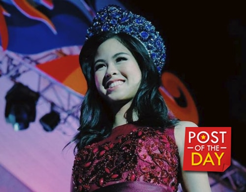 LOOK: Kisses Delavin passes her crown to the next Miss Kaogma in Masbate