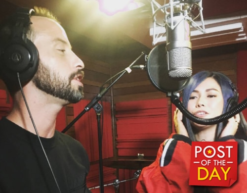 WATCH: Yeng Constantino and David Moffatt make a single together