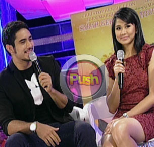 Sarah Geronimo and Gerald Anderson say they are open to doing a TV project together