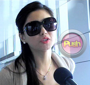 Kim Chiu loses her passport; gets stranded in airport for two hours