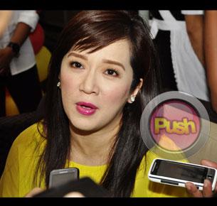 Kris Aquino denies any romance with Makati city Mayor Junjun Binay