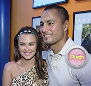 Derek Ramsay and Angelica Panagniban are planning to put up a business together