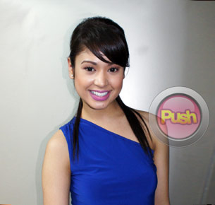 Singer K-La Rivera is one of the winners of the 2011 MYX VJ Search