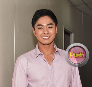 Coco Martin is happy to be paired with Angeline Quinto in 'You Light Up My Life'