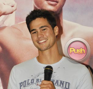Phil Younghusband says he still won't join showbiz