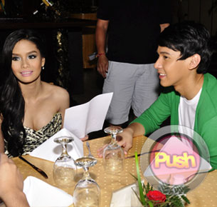 Enchong Dee and Erich Gonzales deny that they are competing with Gerald Anderson and Kim Chiu