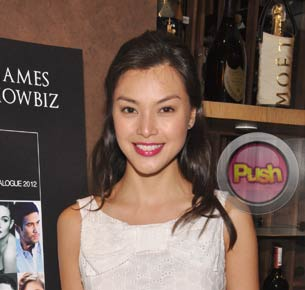 Carmen Soo wants to keep mum on real score between her and Lino Cayetano
