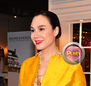 Gretchen Barretto talks about her newfound friendship with KC Concepcion