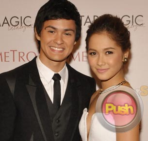 Maja Salvador and Matteo Guidicelli admit that they often hang out together