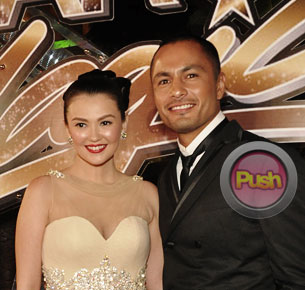 Angelica Panginiban and Derek Ramsay say they won't work together on a teleserye