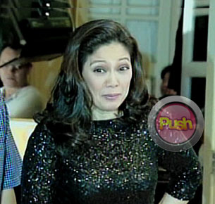 Maricel Soriano finally faces the press