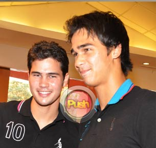 Phil and James Younghusband share what they learned from football star David Beckham