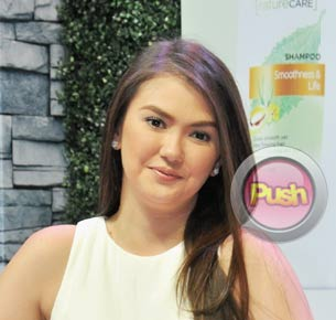 Angelica Panganiban says she is busy but happy