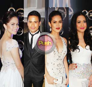 Stars go solo at the Star Magic ball 2012