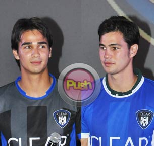 Brothers Phil and James Younghusband reveal details about their love lives