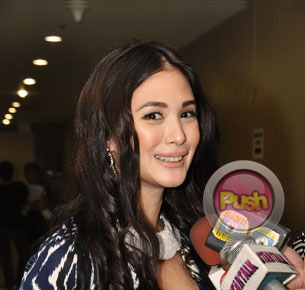 Heart Evangelista clarifies that she is not yet in a relationship with Sen. Chiz Escudero
