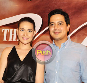 John Lloyd Cruz and Bea Alonzo say it's too early to claim the Box-Office King and Queen titles