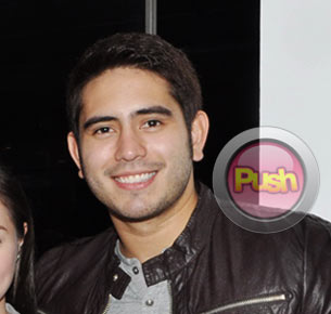 Gerald Anderson doesn't want to comment on the issue concerning Sarah Geronimo and her mother