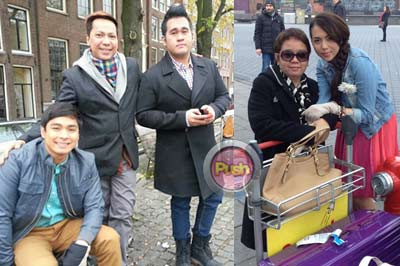 Coco Martin and Julia Montes in London and Amsterdam