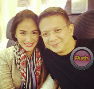 Heart Evangelista on Chiz Escudero: 'I really like what's happening with us right now'