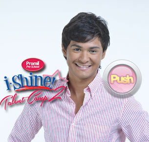 Matteo Guidicelli encourages parents to enroll their child in Promil Pre-school I-Shine Talent camp