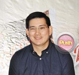 Richard Yap says that being in showbiz made him closer to his wife and kids