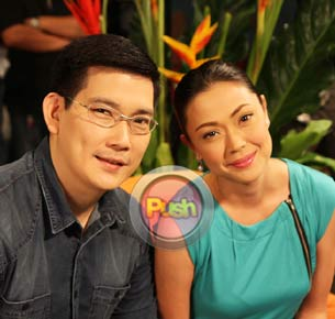 Richard Yap and Jodi Sta. Maria admit feeling very conscious about doing romantic scenes