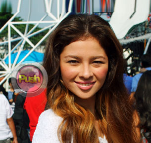 Andi Eigenmann is happy that she is out of the Nikki Gil-Billy Crawford breakup issue