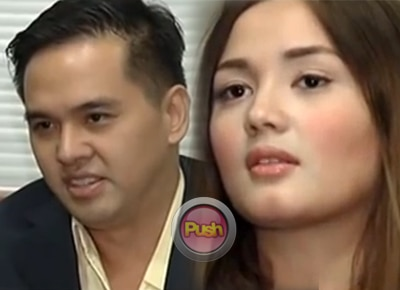Deniece and Cedric feel harassed by members of the press