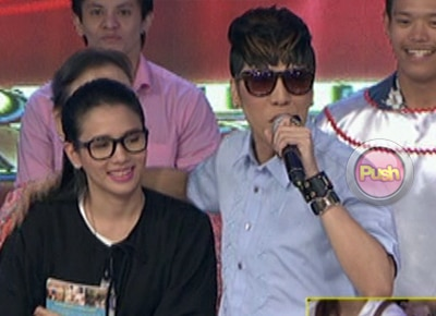 Vice Ganda, Karylle kiss and make up on 'Showtime'