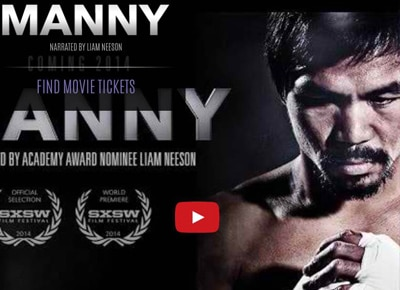 Manny Pacquiao movie showcases the spirit of a true Pinoy fighter