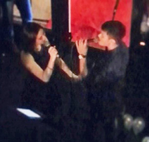 Matteo Guidicelli makes sweet music with Sarah Geronimo during his birthday party