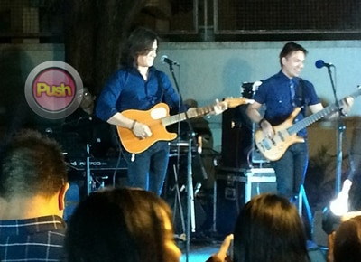 Angel Locsin taps Side A band for Luis Manzano's birthday party