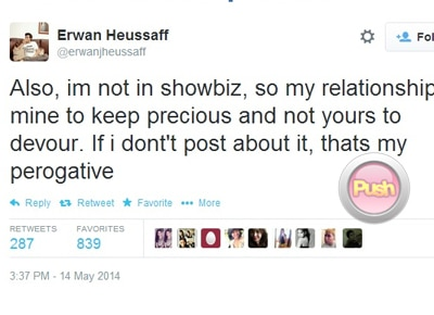 Erwan Heussaff on rumored breakup with Anne Curtis: 'We are fine'