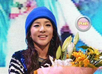 Sandara Park says she wants to star in her own Koreanovela