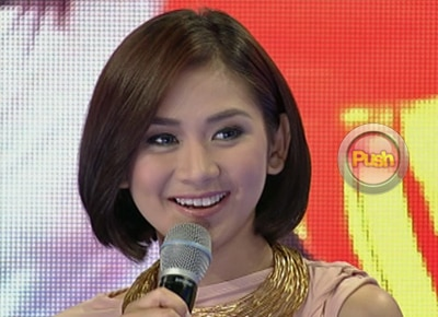 Sarah Geronimo admits visiting the Agoncillos with Matteo Guidicelli