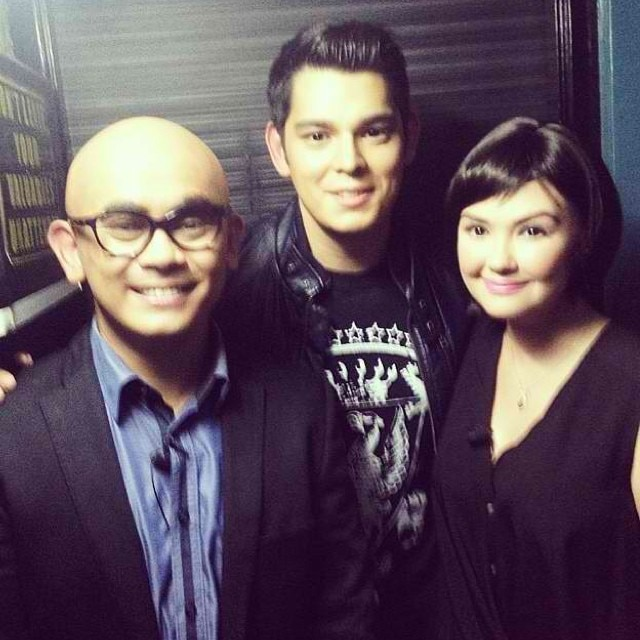Richard meets Krissy and Tito Bhoy