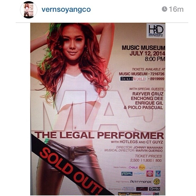 Maja Salvador's concert, sold out!