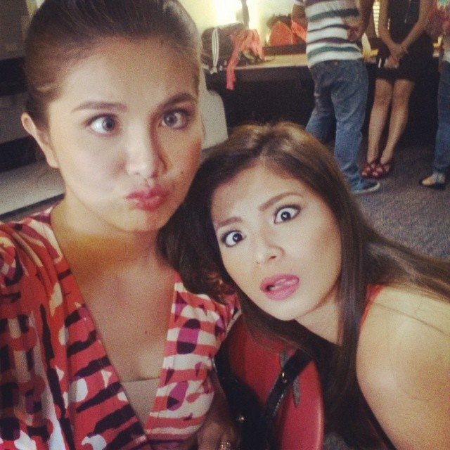 Angel Locsin and Dimples Romana: Friends Forever