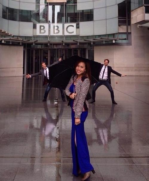 Rachelle Ann Go conquers BBC London radio show