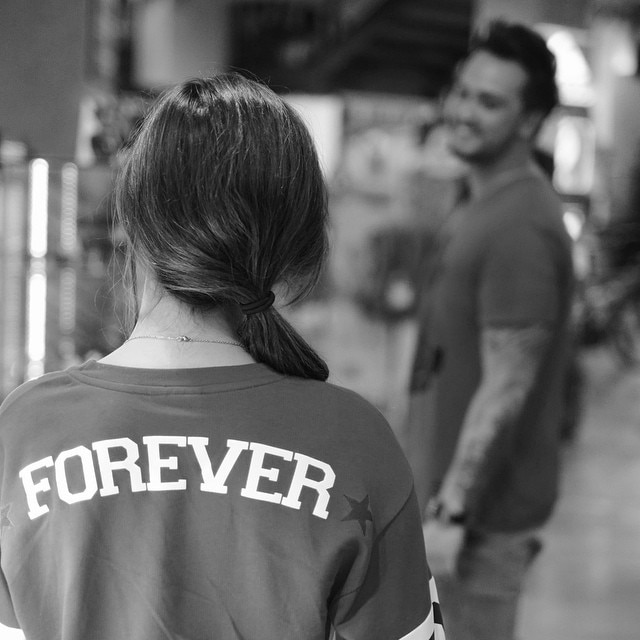Forever for Billy and Coleen