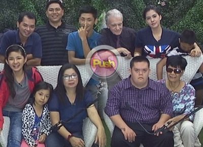The housemates get a surprise visit from their families