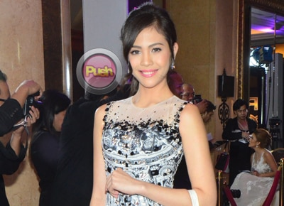 Janella clarifies joke about wanting to beat Daniel Padilla at the Himig Handog finals