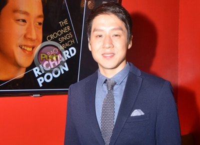 Richard Poon plans to have a baby next year