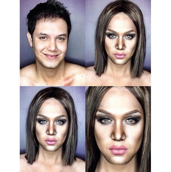 Paolo Ballesteros' MakeUp Transformations amaze even international media