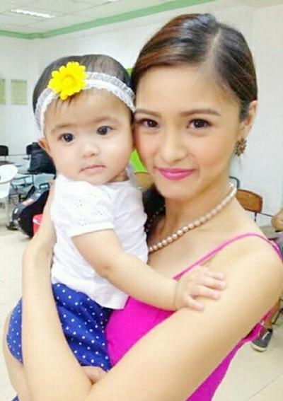 Baby Mela meets Chinita Princess Kim Chiu