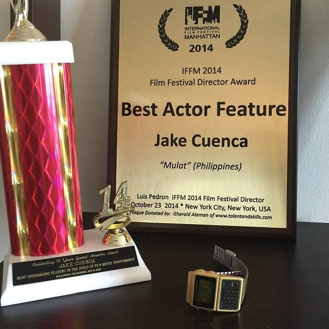 An award winning year for Jake Cuenca