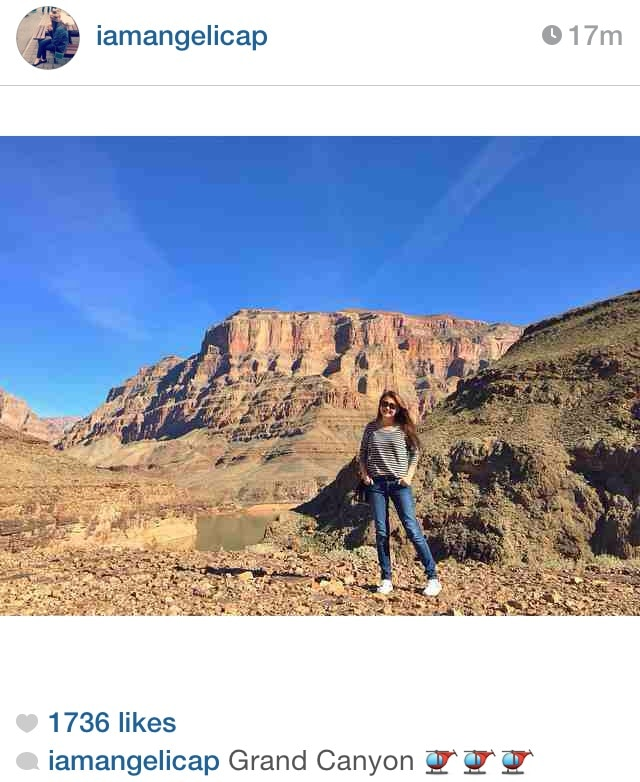 Angelica at the Grand Canyon